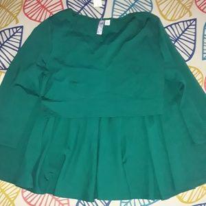 Alya Green Skirt SET Sz XL NWT